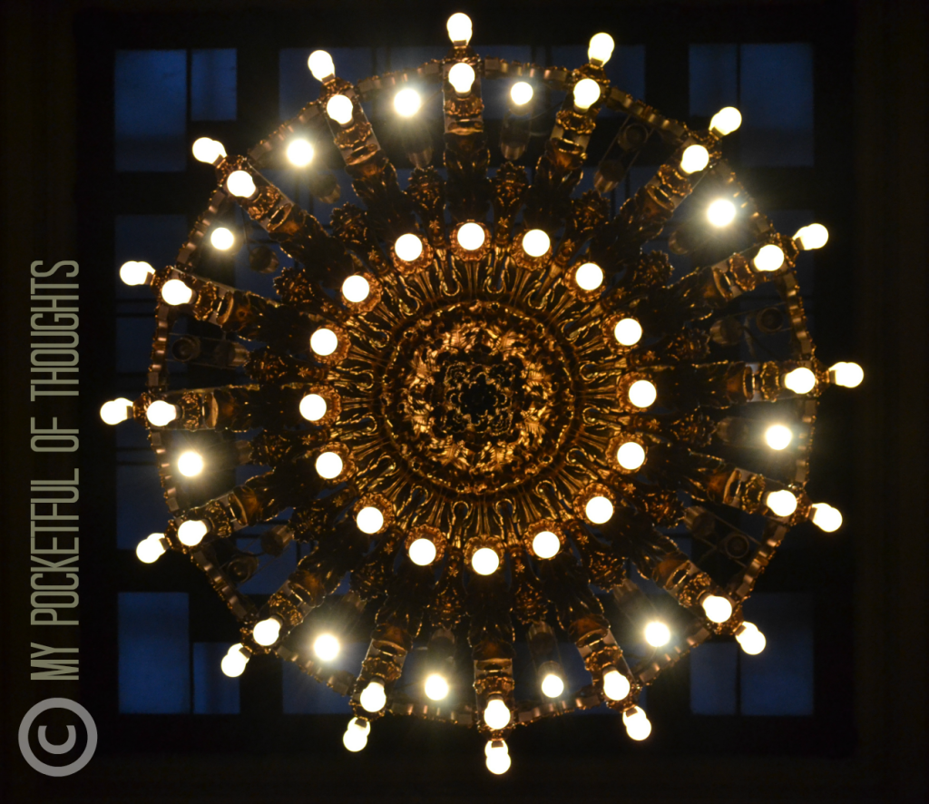 A Chandelier – AFTER; NYC Photography Class