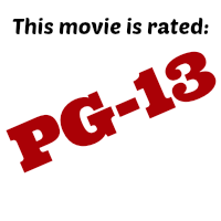This movie is rated pg13