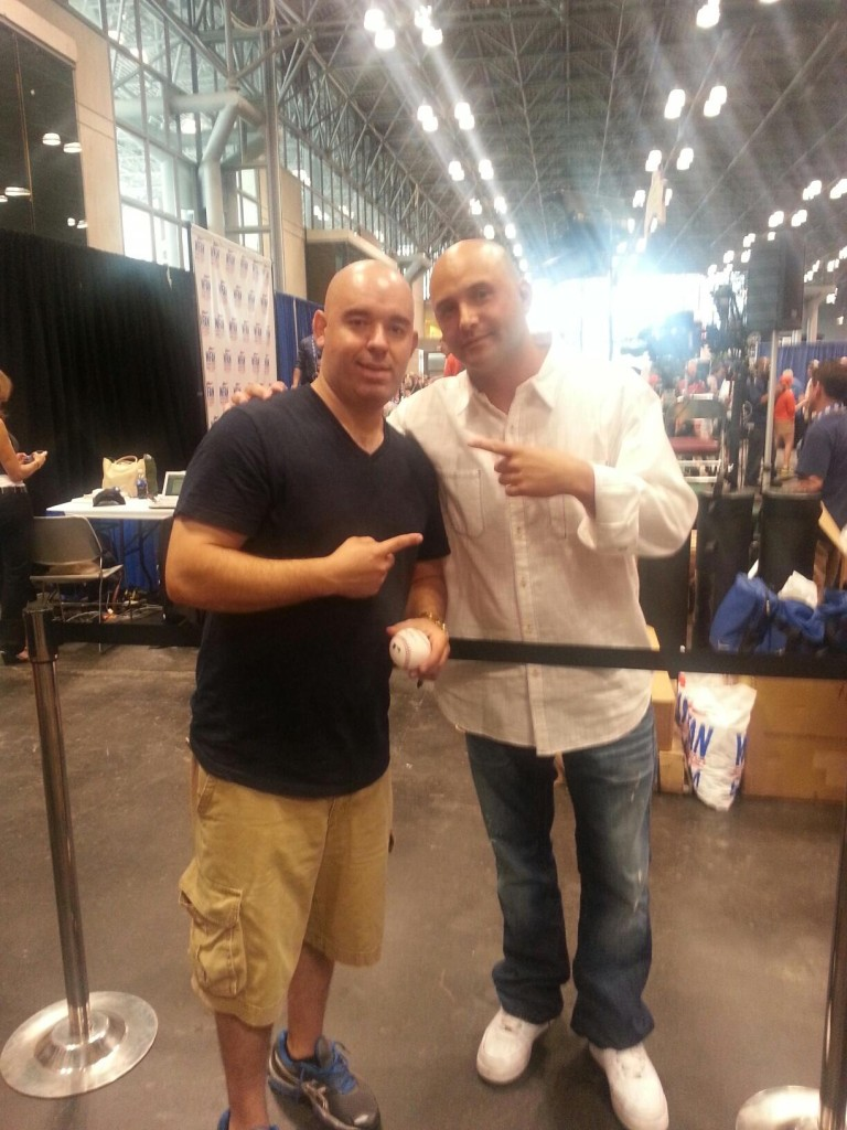A picture of Daniel and Craig Carton