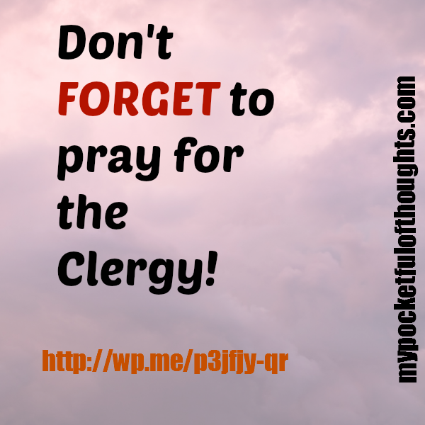 pray for clergy