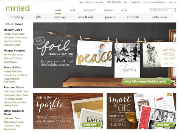 How Easy is it to use Minted.com?