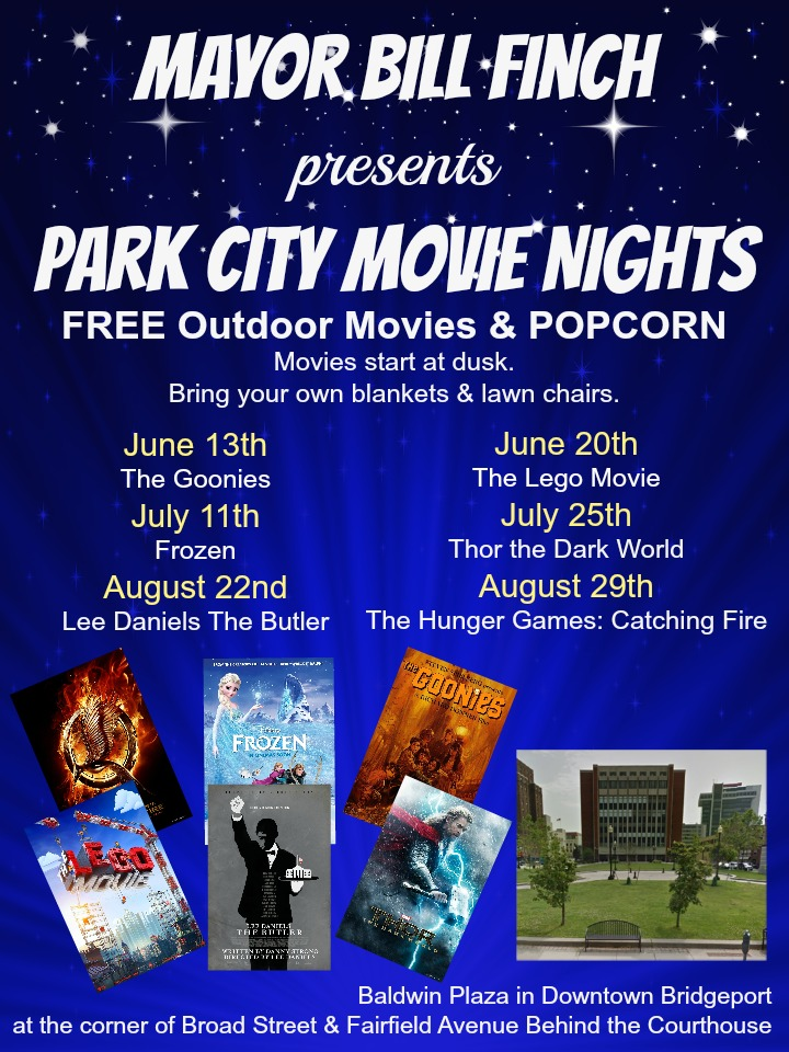 Mayor Bill Finch presents Park City Movie Nights; here's a line up of what's coming this summer. FREE MOVIE, - My Pocketful of Thoughts - Upcoming Events