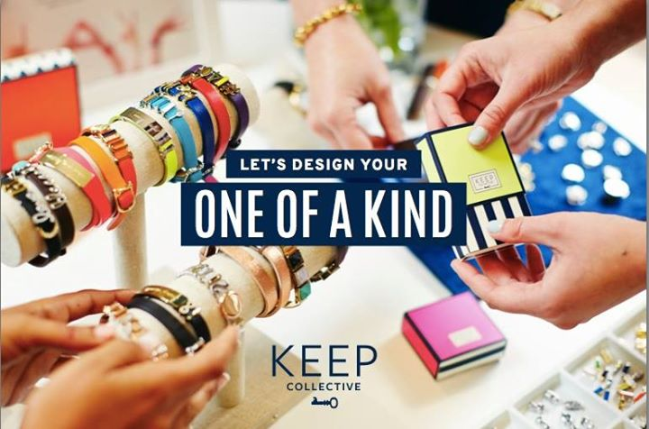 Design a one of a kind with Keep Collective