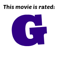 This movie is rated G