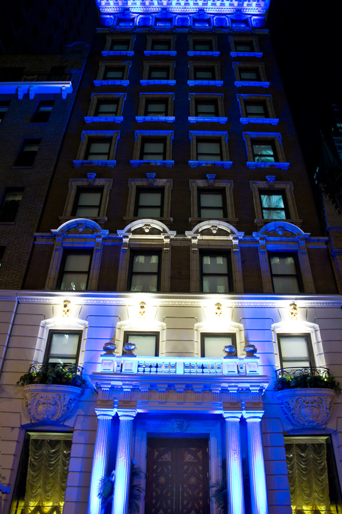 The Outside of the Hotel at Sanctuary Hotel - Times Square