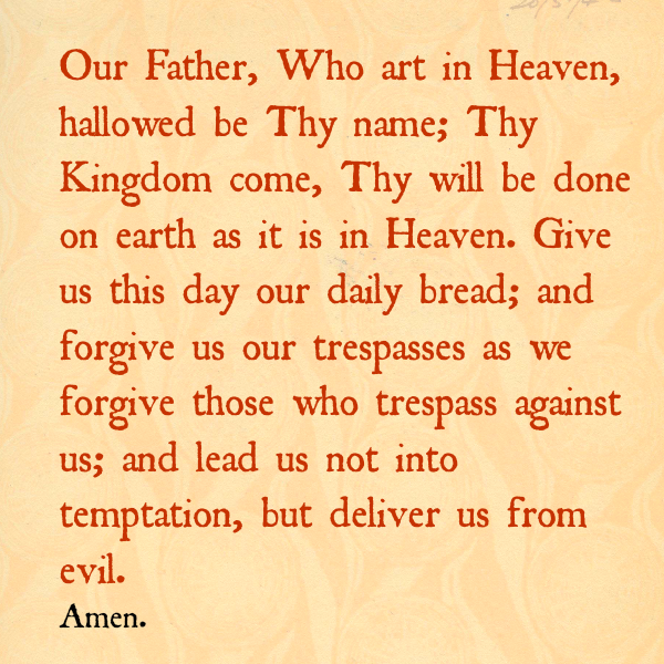 our father who art in heaven prayer http://wp.me/p3jfjy-up