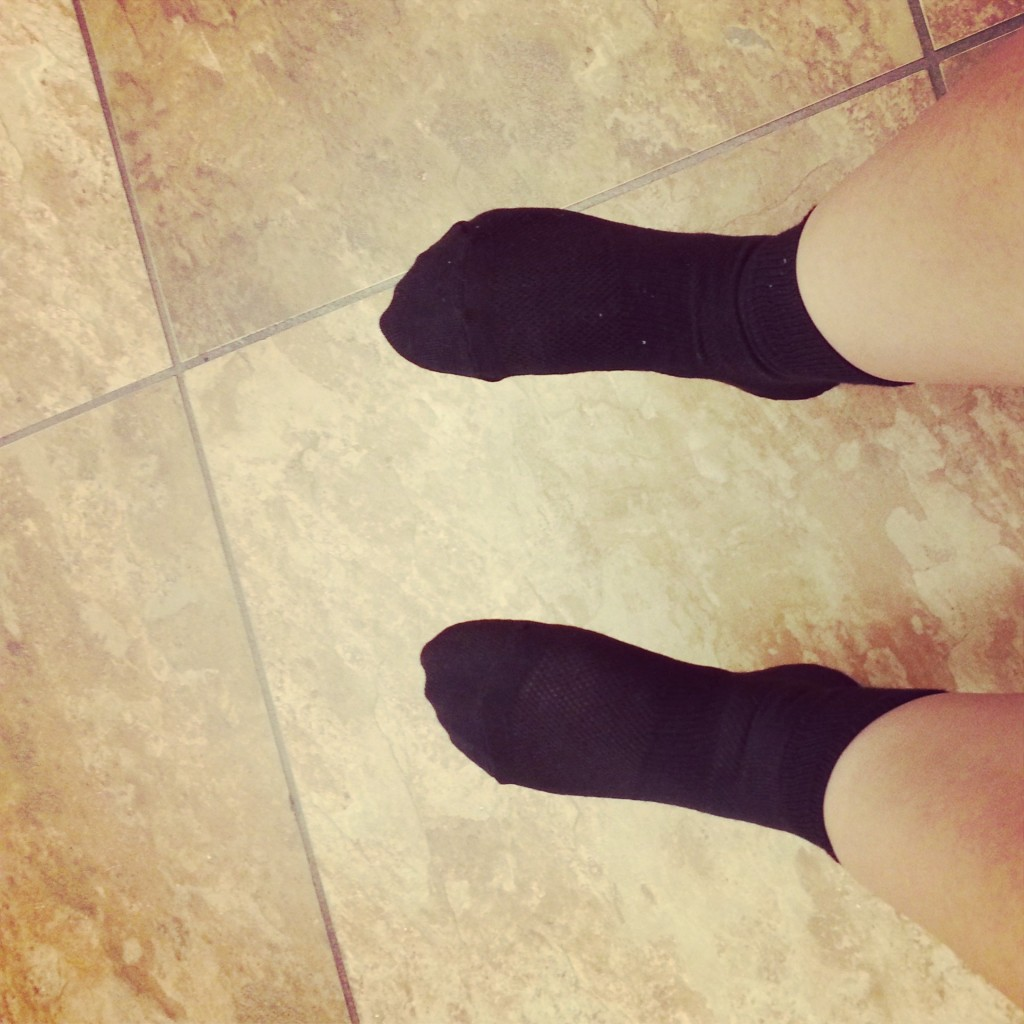 Running socks are great to have when running