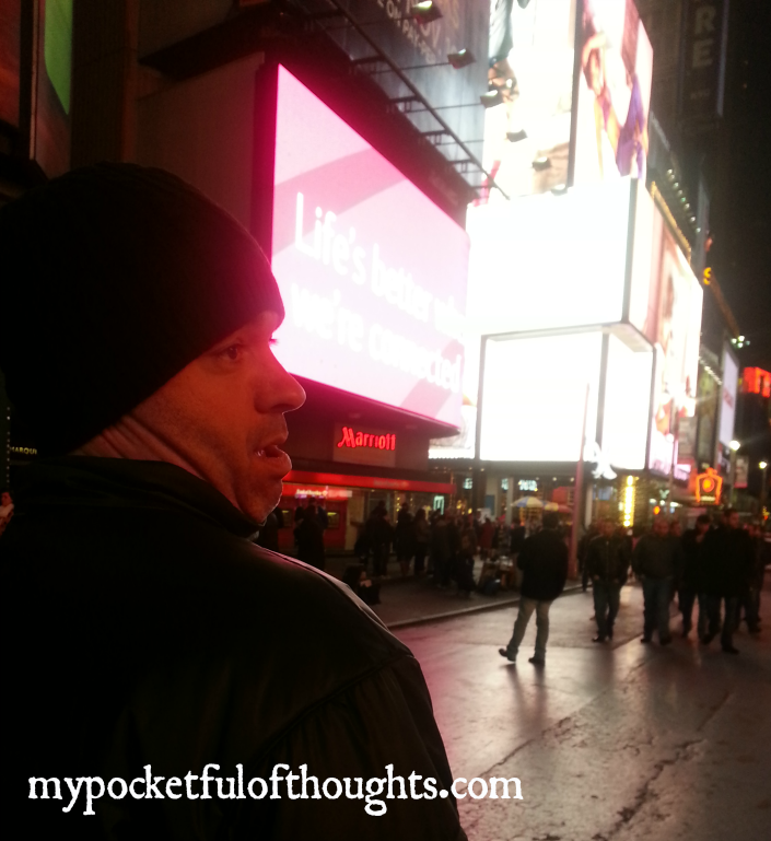 danny made me laugh in times square