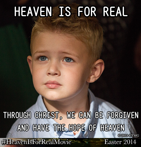 Heaven is for Real Meme - Movie Review on My Pocketful of Thoughts