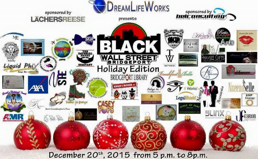 See you at the Black Wall Street Holiday Extravaganza